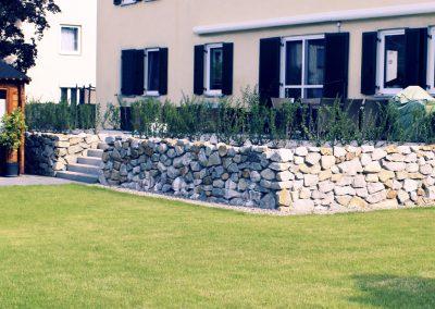 Terrasse aus Granit